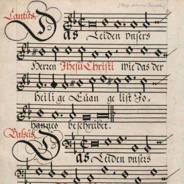 Antonio Scandello 500 v: Johannes-passio