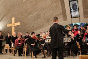 Gloria! -konsertin harjoitukset 2012